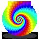 Spectrum Spiral Loop - Dragon Skin Rainbow - VideoHive Item for Sale