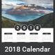 2018 Calendar - GraphicRiver Item for Sale