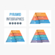 Pyramid Infographics - GraphicRiver Item for Sale