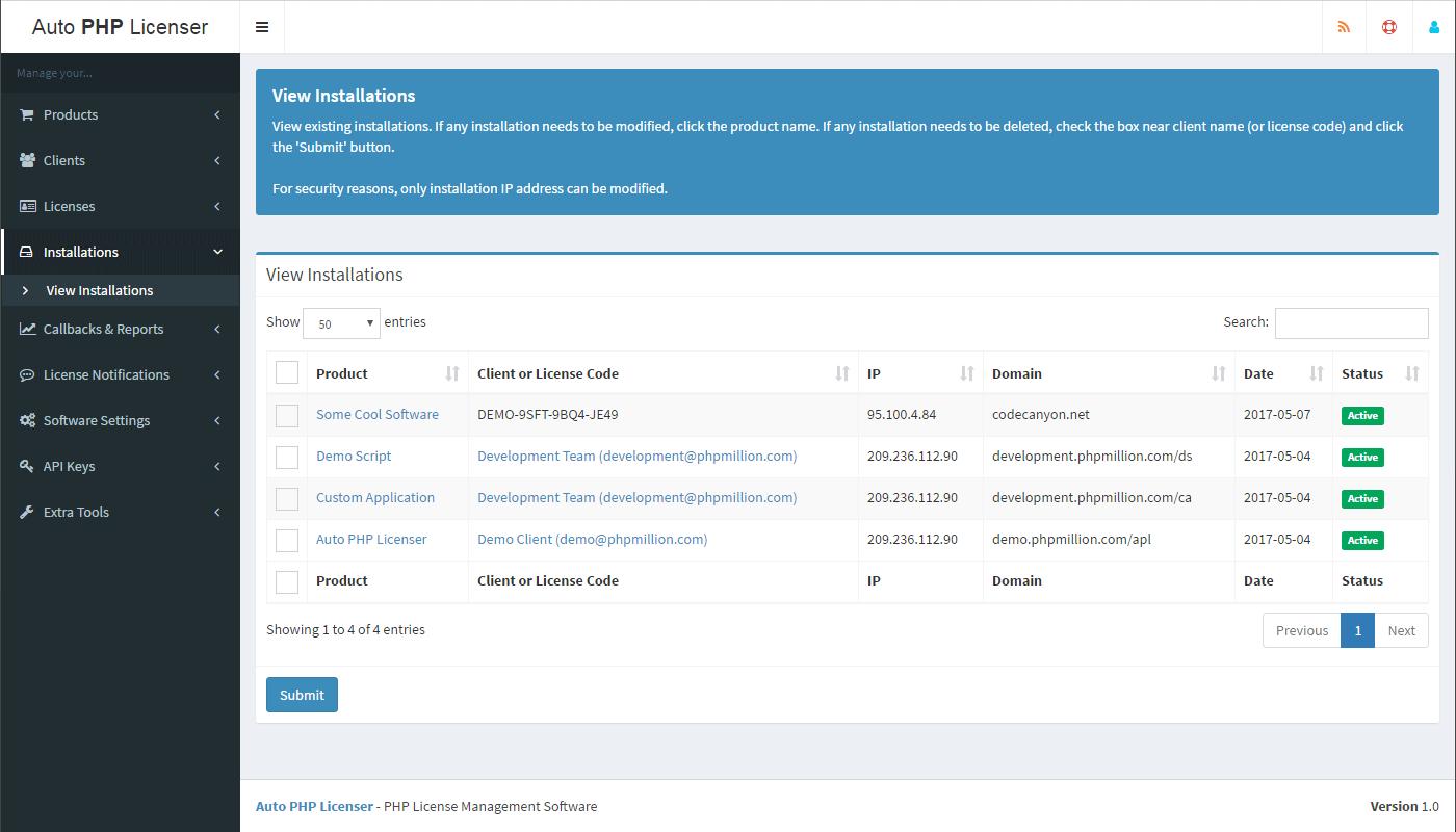 apl screenshot clients png apl screenshot dashboard png