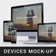 Multi Devices Responsive Screen Mockups