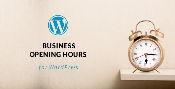WordPress Opening Hours Plugin with Layout Builder - CodeCanyon Item for Sale