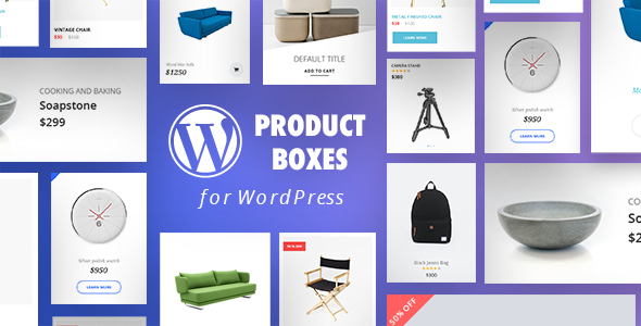 WordPress Product Boxes Plugin with Layout Builder - CodeCanyon Item for Sale