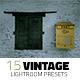 15 Vintage Lightroom Presets