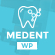 Medent - dental clinic WordPress theme - ThemeForest Item for Sale