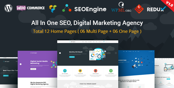SEO Engine – SEO & Digital Marketing Agency WordPress Theme