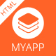 MyApp - App Responsive HTML Template - ThemeForest Item for Sale