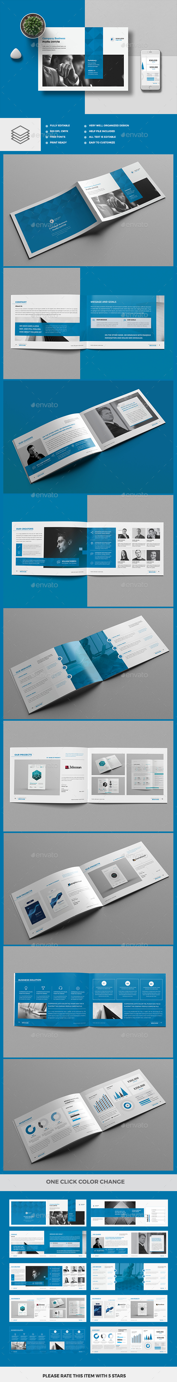 Company Profile 20 Pages - Corporate Brochures