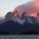 Lake Pehoe at Dawn Torres Del Paine, Chile - VideoHive Item for Sale