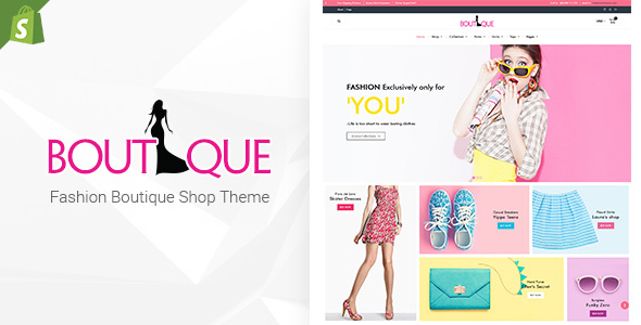 Fashion Boutique - Responsive Shopify Sectioned Theme - Shopify eCommerce