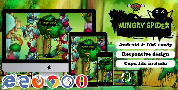 Hungry Spider - CodeCanyon Item for Sale