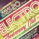 Electro Flyer/Poster Vol.4 - GraphicRiver Item for Sale