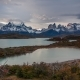 Sunset Over the Lake Pehoe Parque Torres Del Paine, Patagonia, Chile - VideoHive Item for Sale
