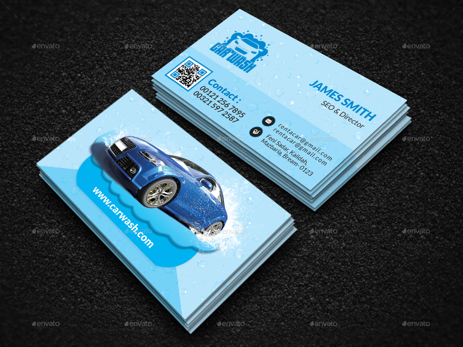 Car wash business card by creative touch graphicriver car wash business card creative business cards 01screenshotg magicingreecefo Images