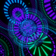 HUD Techno Circles Tunnel VJ Loops - VideoHive Item for Sale