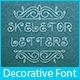 Skeleton Letters Typeface