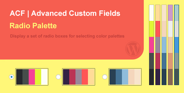 ACF Palette Field - CodeCanyon Item for Sale