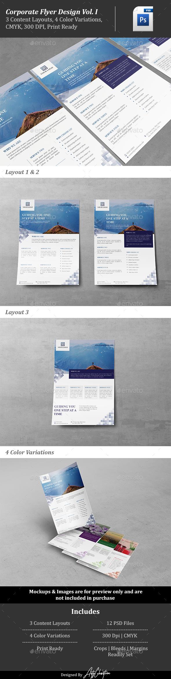 Corporate Flyer Design Vol. 1 - Corporate Flyers