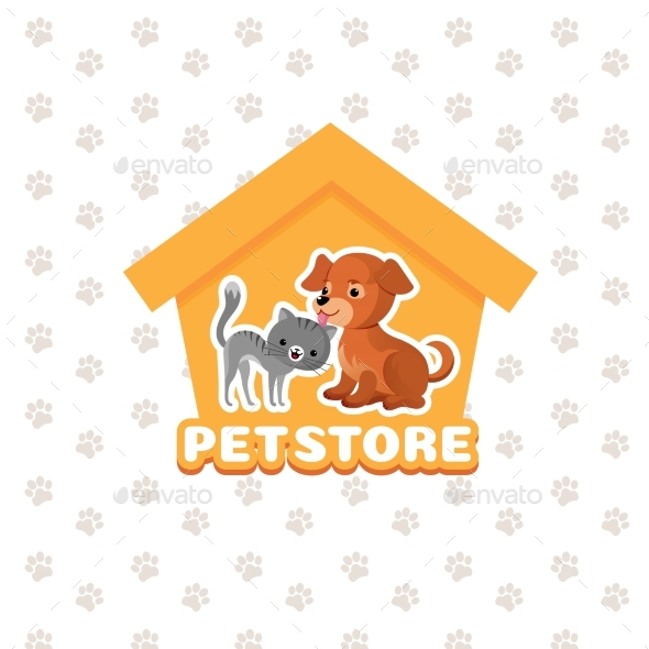 Pet Store Vector Background - Miscellaneous Vectors