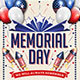 Memorial Day Labor Day 4th Of July Flyer And Poster - GraphicRiver Item for Sale
