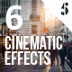 6 Cinematic Effects - GraphicRiver Item for Sale