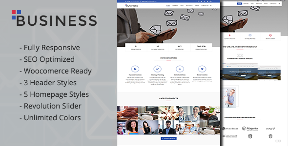 ThemeForest Business Multi-Purpose Portfolio and Woocommerce WordPress Theme 19975741