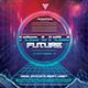 Retro Future Flyer/Instagram Template - GraphicRiver Item for Sale