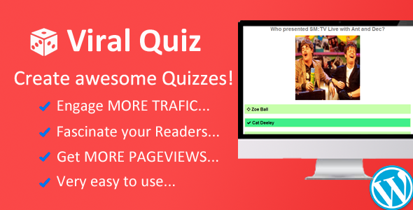 Wordpress Viral Quiz Builder - CodeCanyon Item for Sale