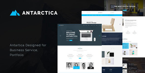 Antarctica – Business Portfolio WordPress Theme
