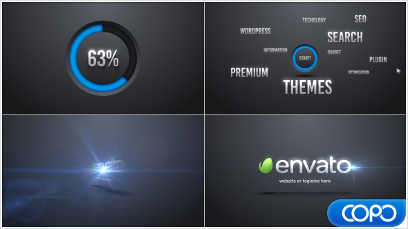 Videohive - After Effects Template -  Words Corporate Logo Intro