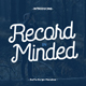 Saffa Recordminded - GraphicRiver Item for Sale