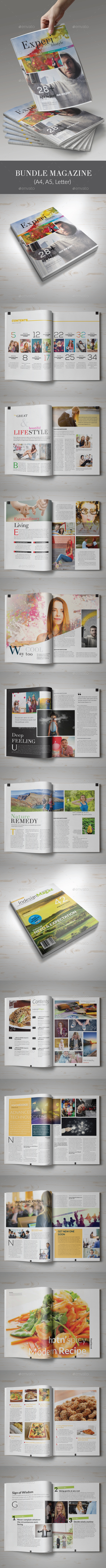 6th Bundle Magazine - Magazines Print Templates