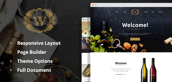 Best Wine - Wine and Winery WordPress Theme
