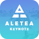 Aletea Creative Keynote Template - GraphicRiver Item for Sale