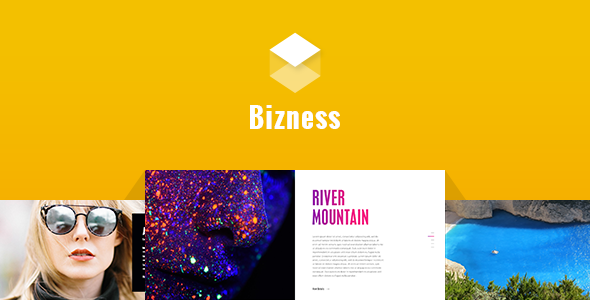 Bizness – Corporate Business PSD Template