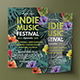 Tropical Music Flyer - GraphicRiver Item for Sale