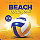 Beach Volleyball Championship - GraphicRiver Item for Sale