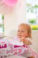 Little Girl Unpacking Her Birthday Gift - PhotoDune Item for Sale