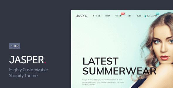 Jasper – Shopify Theme