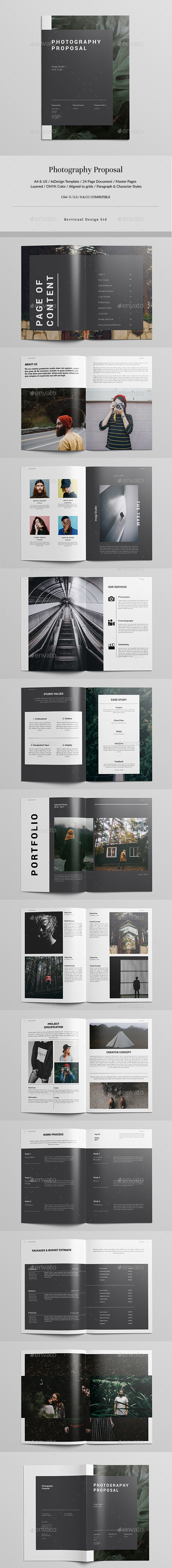 Photography Proposal - Corporate Brochures