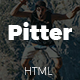 Pitter - Personal Portfolio Template - ThemeForest Item for Sale