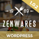 Zenwares - Responsive WooCommerce WordPress Theme Nulled