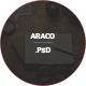 Araco –Clean Personal Blog PSD Template
