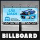 Car Wash Billboard - GraphicRiver Item for Sale