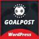 Goal Post Sports Blog WordPress Theme - Sports WP
