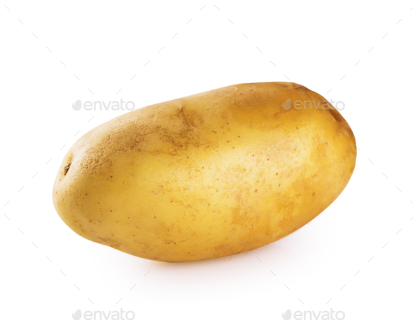Young ripe potato - Stock Photo - Images