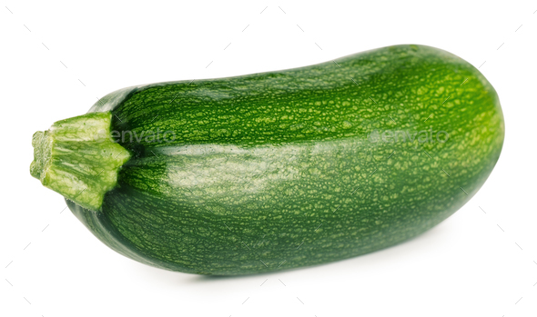 Raw green zucchini - Stock Photo - Images