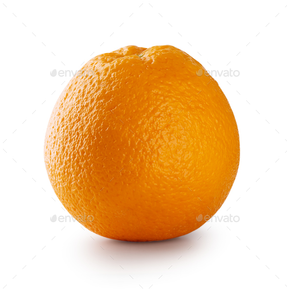 Ripe juicy orange - Stock Photo - Images
