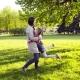 Family Hug in Park