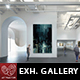 Exhibition Gallery Mockup v.2 - GraphicRiver Item for Sale